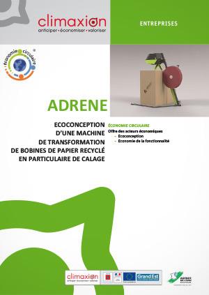 ADRENE : Éco-conception d'une machine de transformation de bobines de papier recyclé en particulaire de calage