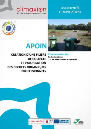 Apoin : création d'une filière de collecte et valorisation des déchets organiques professionnels
