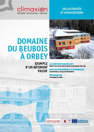 Domaine du Beubois à Orbey : exemple d'un bâtiment passif