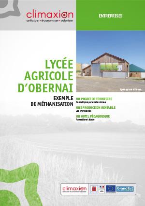 Lycée agricole d'Obernai : exemple de méthanisation