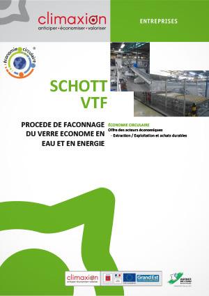 Schott VTF : Procédé de façonnage du verre économe en eau et en énergie
