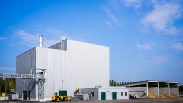 Chaufferie Biomasse Delipapier à Frouard (54)