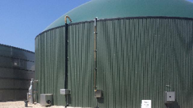 Unité de méthanisation et fourniture de chaleur pour un hôpital à Mirecourt