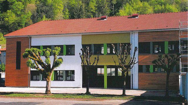 Rénovation BBC Groupe scolaire à Chevillon
