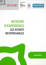 REX Achats responsables - Couverture