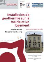 Couverture fiche REX géothermie - Pierre-la-Treiche