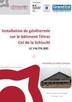 Géothermie dans les Vosges
