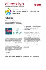 Newsletter EIT - novembre 2018