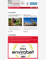 Newsletter Climaxion décembre 2020