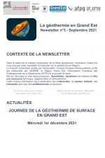 Geothermie septembre